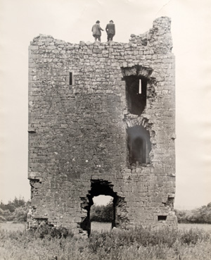 Cloghan Castle Galway history